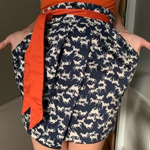 🐴H&M Horse Novelty Vintage High Waisted Mini